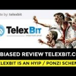 REVIEW TELEXBIT PONZI SCHEME! FROM THE SAME SCAMMERS AS MAXXIMUS FINANCE.