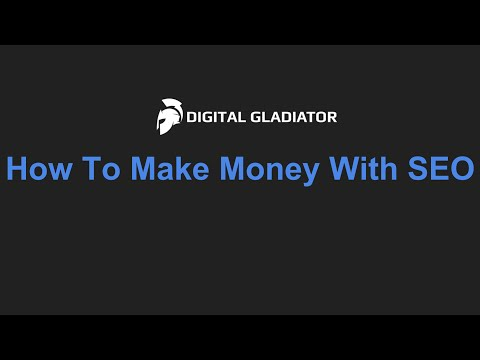 How To Make Money Online With SEO In 2016 - 4 Methods