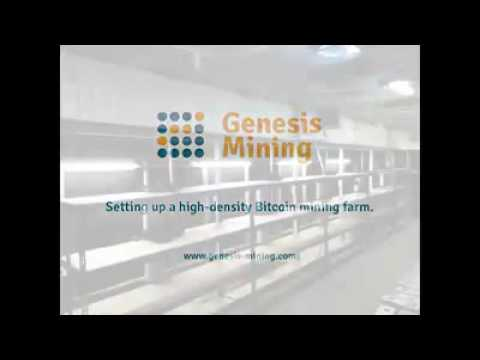 Setting up a high-density Bitcoin mining farm @ Genesis Mining.