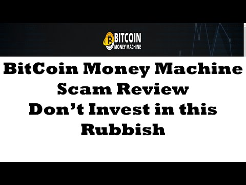 Bitcoin Money Machine Scam Review