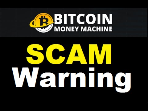 Bitcoin Money Machine Review - Total SCAM WARNING!