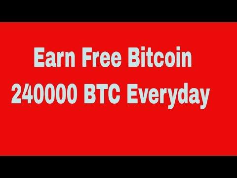 Free Bitcoin Mining NO Invest 240000 BTC