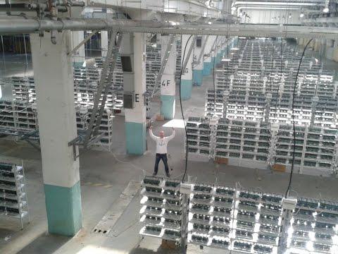 Bitcoin mining operation in America