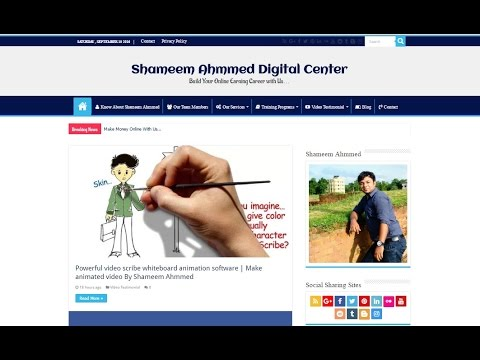 Shameem Ahmmed Digital Center Promo Video About How To Make Money Online With Proven Methods | HD