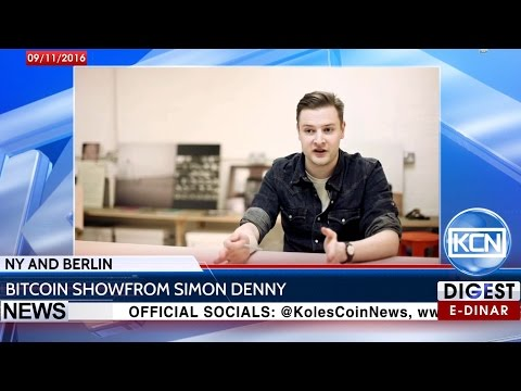 KCN Digest: Bitcoin Show from Simon Denny in NYC and Berlin