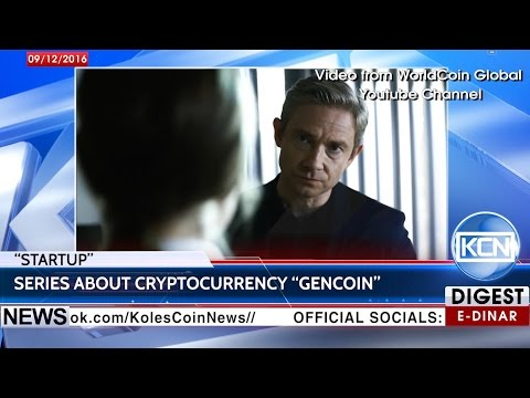"KCN News: ""StartUp"" – cryptocurrency GenCoin show"