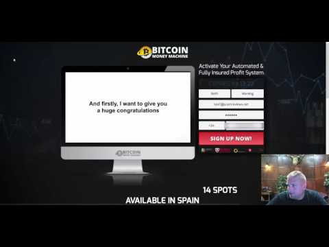 Bitcoin Money Machine   Clearly a Scam