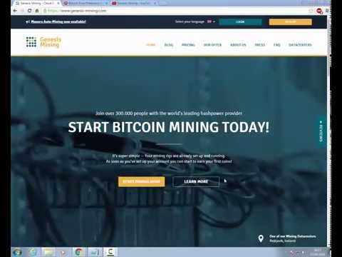 Earn Bitcoin/Etherium With Genesis Mining 2016 In Urdu/Hindi