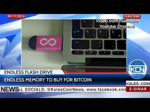 KCN News: Flashsafe - endless memory via Bitcoin
