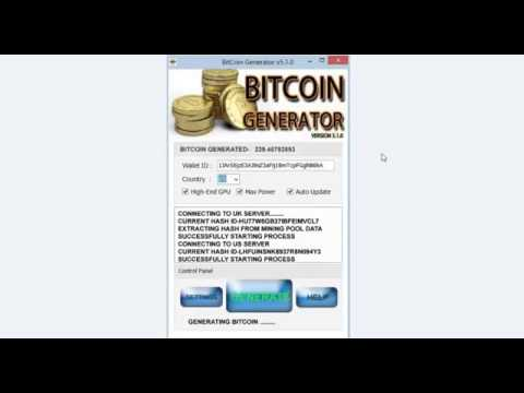 BITCOIN GENERATOR FOR PC TABLET smartphone