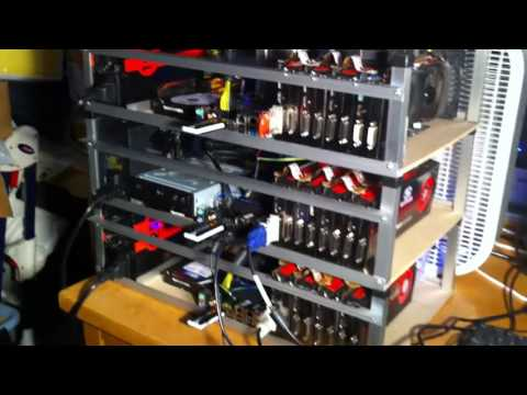 5GHs Bitcoin mining rig