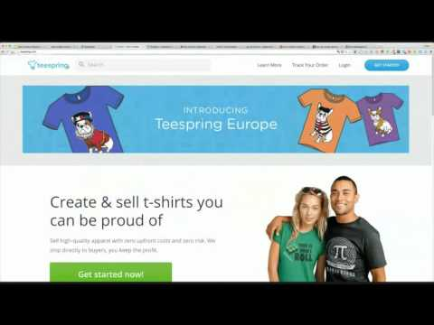 How to Make Money Online With Print on Demand Products | Be Awesome