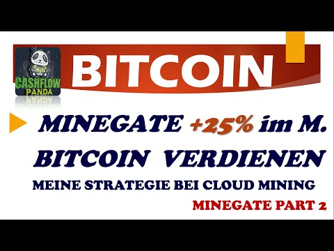MineGate Bitcoin verdienen! Bitcoins verdienen mit Bitcoin Cloud Mining. Miner Part 2 Mine Gate.