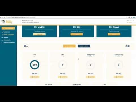 Mining Bitcoin with Genesis Mining