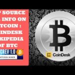 App Source For Info On Bitcoin : Coindesk (Wikipedia of BTC)