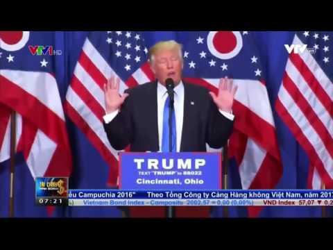 Ứng viên Donald Trump và giá trị đồng Bitcoin   Bicoin Vietnam News