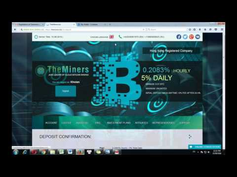 Earn Bitcoin, Trust site investment, Earn 350$/days - Profit 5% Day (SCAM)