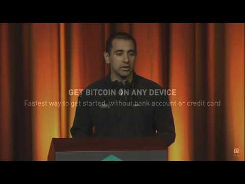 21 CEO, Balaji Srinivasan presents  How To Get Bitcoin Without Mining or Buying Bitcoin