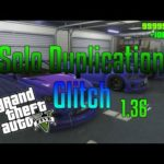 GTA 5 Online – SOLO Unlimited Money Glitch After Patch 1.36! (Solo Car Duplication! All Consoles)