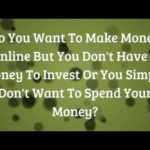 earn money online from home – how to make money without a job – how to make real cash at home from