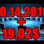 How to Earn money online. 19.02$ per day 10.14.2016) Passive Income