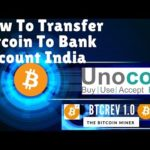 How To Transfer Bitcoin To Bank Account India