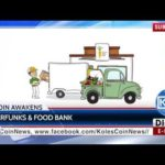 KCN News: Cyberfunks & Food Bank teamed up for Bitcoin Awakens