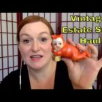 Live Garage Sale Haul Video -Vintage Pottery & Art Deco Pieces – Make Money Selling Online