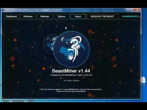 BeastMiner v1. 44 (Best Bitcoin Mining)