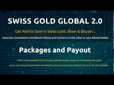 Swiss Gold Global 2.0 With Genesis Mining - prelaunch presentation by Sofia Sevda