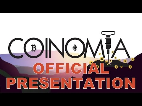 COINOMIA OFFICIAL PRESENTATION - EARNINGS FOR MINING cryptocurrency