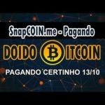 SnapCoin – Dobre Seus Bitcoin, 1% por Hora! CORRE BOT TELEGRAM!! [SCAM]