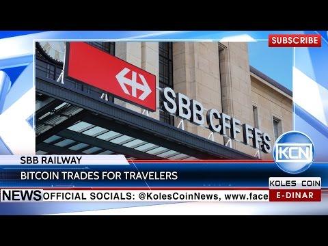 KCN News: Bitcoin sales with SBB railway service