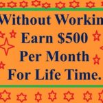 How To Make Money Without Working – Only One Creative Way To Make Money Online.