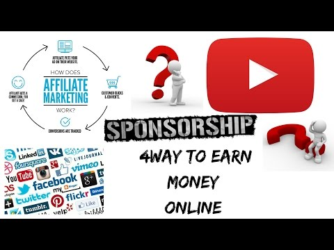 4 ways to make money online ( in Hindi / Urdu  )