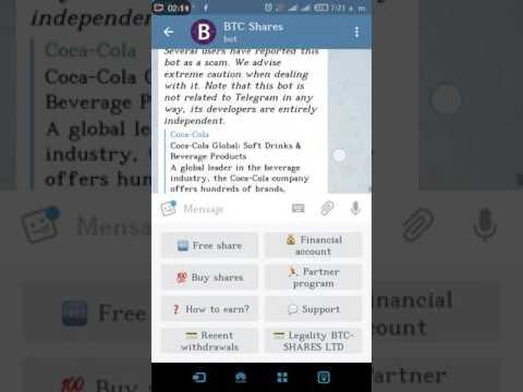 Bot Automatico para Bitcoin de TELEGRAM 2016 - 2017 aprovechen!