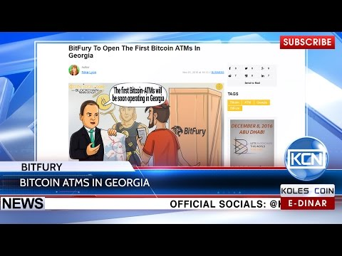 KCN News: 2  Bitcoin ATMs in Georgia by BitFury Group