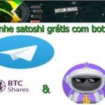 GANHE SATOSHI GRÁTIS COM BOTS NO TELEGRAM