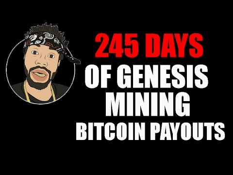 245 DAYS OF GENESIS MINING BITCOIN PAYOUTS