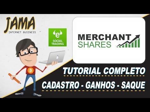 Merchant Shares - Investimentos em Forex, Web Ads, Comodites e Ações