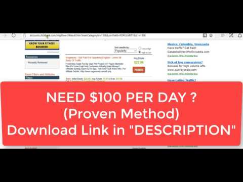 Learn HOW TO MAKE $100 a day | Proven Method