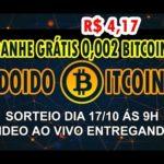 1 Sorteio 0.002 Bitcoins Inscritos Canal + Dicas Sites Pagando