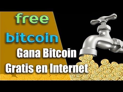 Gana Bitcoin gratis por internet MUY FACIL 100% RECOMENDADO