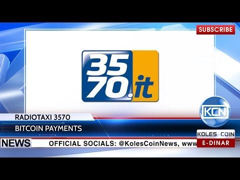 KCN News: RadioTaxi 3570 accepts bitcoins