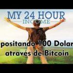 my24hourincome | Depositando 100 Dolares através de Bitcoin