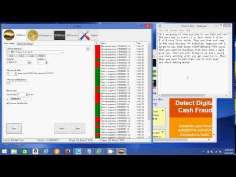 NO SCAM FREE BITCOIN BOT New 2016 Bitcoin Bot Dogecoin Bot and Litecoin Bot MAKE 1 BTC A DAY 1