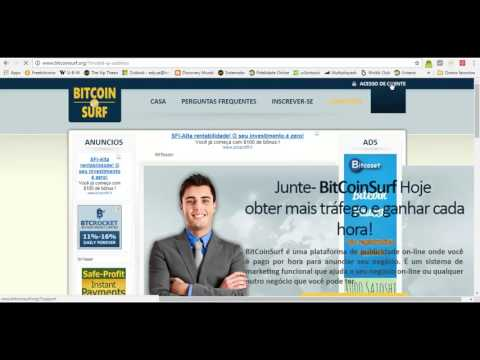 Bitcoinsurf   0 00500000 Satoshi em 40 Minutos   Autosurf Bitcoin(scam)