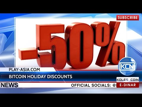 KCN News: Christmas Discounts with Bitcoin by Play-Asia.com