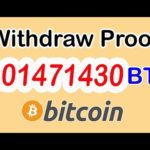 Earn Bitcoin | withdraw proof  of 0.01471430  BTC from Aimbtc