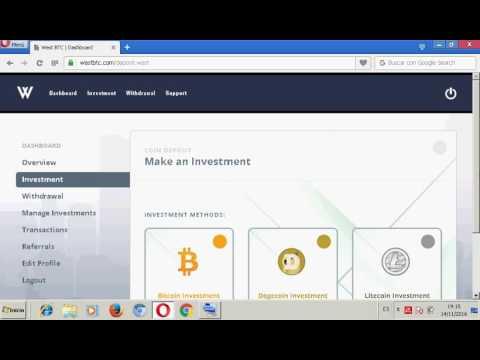 SCAM  West btc pagina de inversion bitcoin,litecoin y dogecoin 2.4% diario de tu inversion